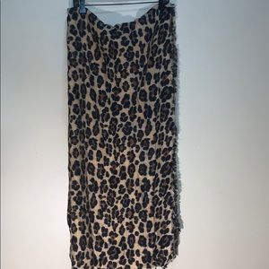 ZARA Leopard Wrap